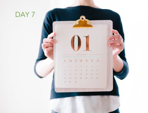 Day 7 – Calendar Detox
